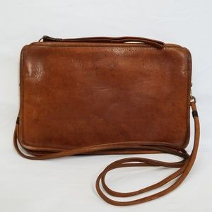 Coach 1970s Vintage Convertible Slim Clutch Bag